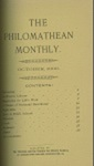 Philomathean Monthly Volume 5 (1900-1901)