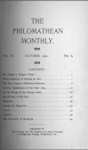 Philomathean Monthly Volume 6 (1901-1902) by Bridgewater College
