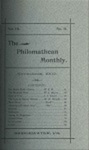 Philomathean Monthly Volume 7 (1902-1903)