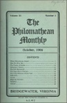 Philomathean Monthly Volume 11 (1906-1907)
