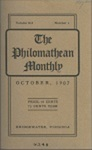 Philomathean Monthly Volume 12 (1907-1908) by Bridgewater College