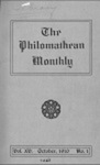 Philomathean Monthly Volume 15 (1910-1911) by Bridgewater College