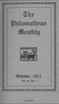 Philomathean Monthly Volume 16 (1911-1912)