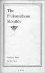 Philomathean Monthly Volume 19 (1914-1915)