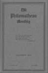 Philomathean Monthly Volume 21 (1916-1917)