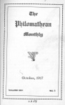 Philomathean Monthly Volume 22 (1917-1918) by Bridgewater College