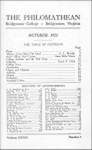 Philomathean Monthly Volume 28 (1923-1924)