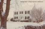 Bridgewater College President's House in snow, undated by Bridgewater College