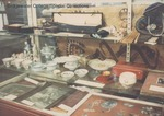 Bridgewater College, The Nettie Senger Chinese artifacts case in the Reuel B. Pritchett Museum, undated by Bridgewater College