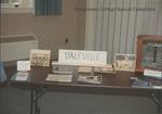 Bridgewater College, A tabletop display of Daleville College memorabilia, 12 May 1993 by Bridgewater College