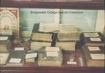 Bridgewater College, Church of the Brethren books and memorabilia display case in the Reuel B. Pritchett Museum, undated by Bridgewater College