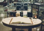 Bridgewater College, The sign-in table at the Reuel B. Pritchett Museum, undated by Bridgewater College