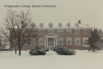 Bridgewater College, Rebecca Hall in snow, 1989 by Bridgewater College