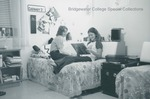 Bridgewater College, Two women in a residence hall room, undated by Bridgewater College