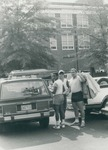 Bridgewater College, Men moving into a residence hall, September 1984 by Bridgewater College