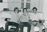 Bridgewater College, Men being silly in a residence hall room, circa 1974 by Bridgewater College