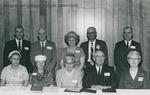 Bridgewater College, Group portrait of the Class of 1922 in reunion, 3 June 1967 by Bridgewater College