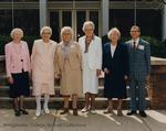 Bridgewater College, Group portrait of the Class of 1924 on Alumni Day, 1989 by Bridgewater College