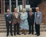 Bridgewater College, Group portrait of the Class of 1926 on Alumni Day, 11 May 1991 by Bridgewater College