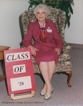 Bridgewater College, Portrait of Edna (Peg) Miller, Class of 1928, 9 May 1998 by Bridgewater College
