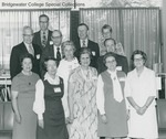 Bridgewater College, Group portrait of the Class of 1932 on Alumni Day, 1972 by Bridgewater College