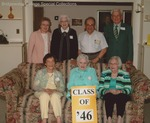 Bridgewater College, Group portrait of the Class of 1946 on Alumni Weekend, 22 April 2006 by Bridgewater College