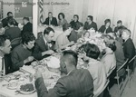 Bridgewater College, Class of 1948 dining in reunion, undated by Bridgewater College