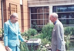 09. Monies for the Garden came from Dr. and Mrs. Richard Shrum, Class of '37. by L. Michael Hill Ph.D.