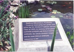 10. The plaque which explains why the garden was planted. by L. Michael Hill Ph.D.