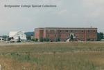 Bridgewater College, Wakeman Hall and College Farm barn, June 1986 by Bridgewater College