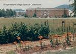 Bridgewater College, Wakeman Hall from garden, June 1986 by Bridgewater College