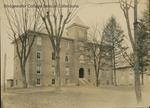 Bridgewater College, Wardo Hall and the old gymnasium, circa 1930 by Bridgewater College