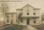Bridgewater College, The White House, early 20th century by Bridgewater College