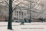 Bridgewater College, Wright Hall in snow, February 1986 by Bridgewater College