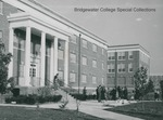 Bridgewater College, Crowd outside Wright Hall on its dedication day, 3 October 1959 by Bridgewater College