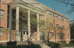 Bridgewater College, Wright Hall entrance, 22 April 1996 by Bridgewater College