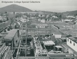 Bridgewater College, Aerial photograph of Wright Hall construction, circa 1958 by Bridgewater College