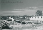 Bridgewater College, Wright Hall construction, probably 1 October 1958 by Bridgewater College