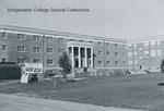 Bridgewater College, Wright Hall construction, circa 1959 by Bridgewater College