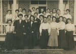 Bridgewater College, Picture postcard showing women living in Yount Hall, circa 1917 by Bridgewater College